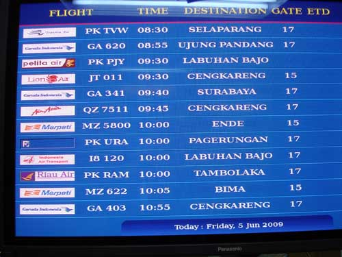 Bali Cheap Flights budget airlines Indonesia