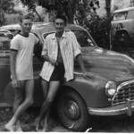 5ACS Members Norm Warburton and Ken Hodge at Berry Springs 1959