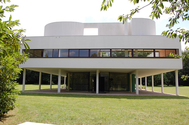 Villa savoye poissy flickr photo sharing for Poissy le corbusier