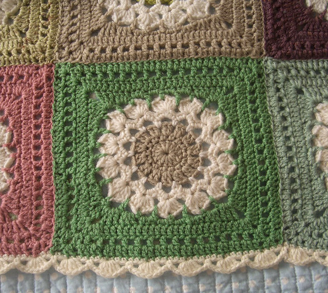 Free Crochet Pattern Afghan Edging : Crochet afghan borders - a gallery on Flickr