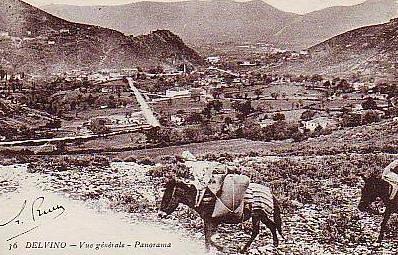 Το Δέλβινο κατά το 1960