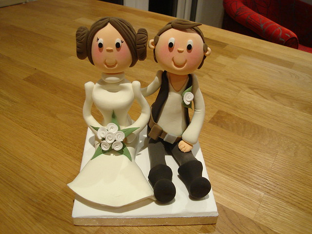 star wars wedding cake topper wars wedding cake topper a photo on flickriver 20509