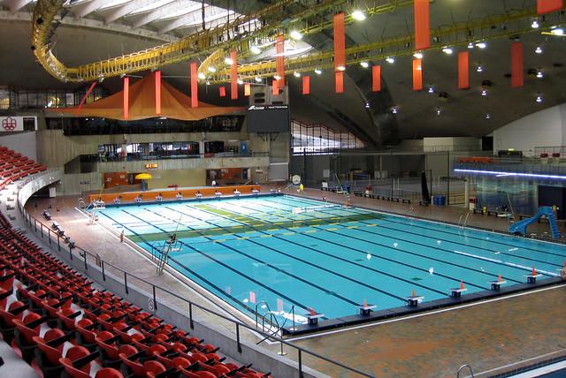 Montr al hochelaga maisonneuve la piscine olympique de for Piscine olympique