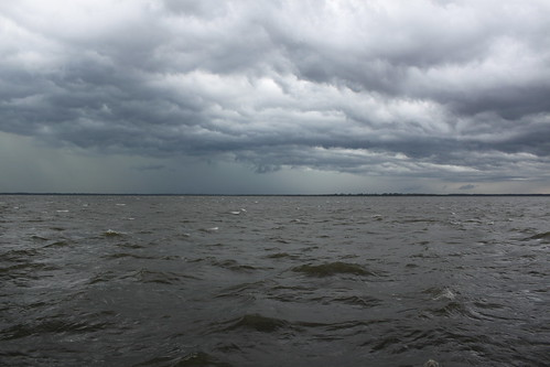 storm landscape bay