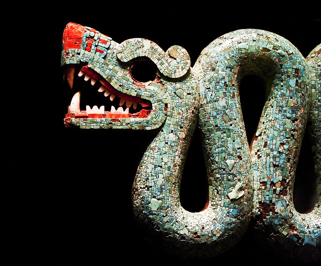 Aztec double headed serpent detail one of my favourite