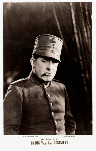 Johan Kaart in De Big van het Regiment