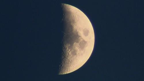 moon ontario night video sudbury northern lunar