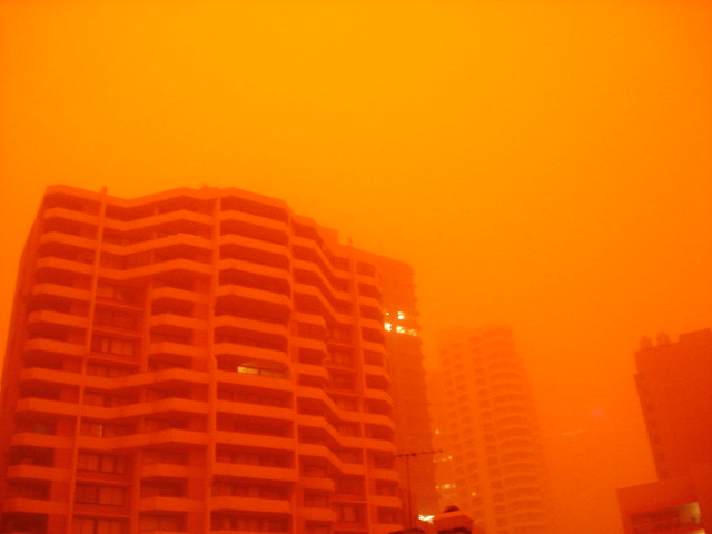 Sydney 7am...rojo