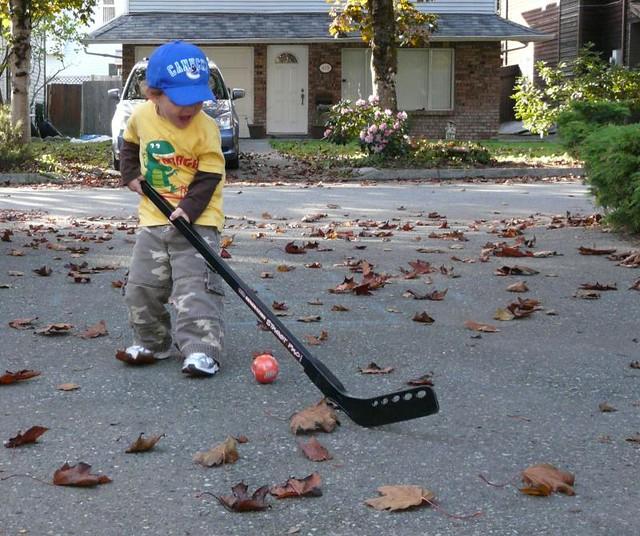 20091007 roadhockey
