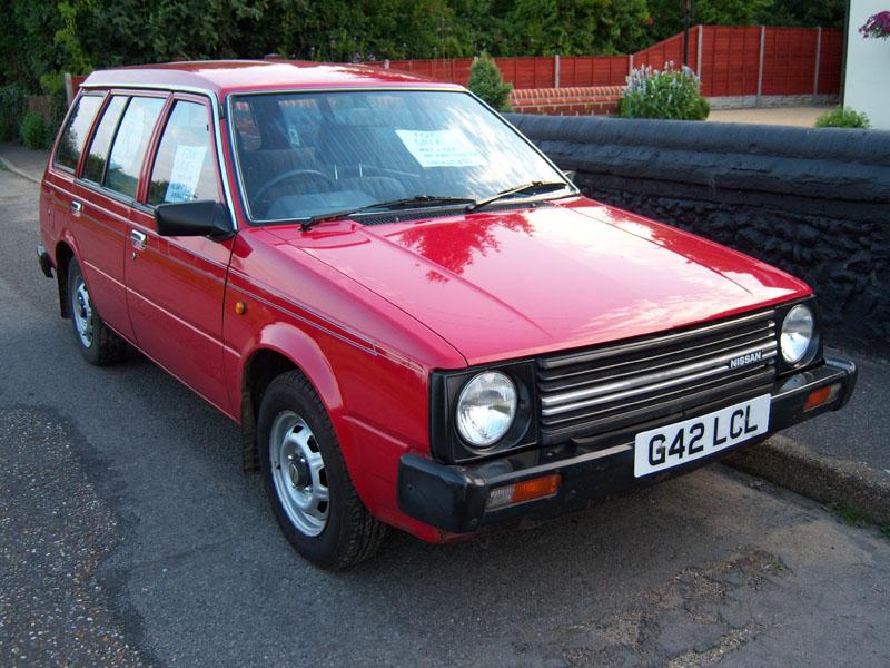 B11 Datsun/Nissan Sunny 1981-85   Datsun Club UK forum
