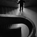 Man on the stairs by Georgie Pauwels