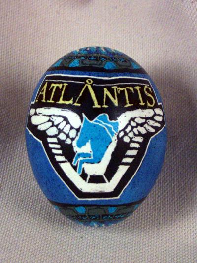 stargate: atlantis egg - side view