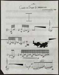Charts & Shapes' : for bassoon solo I  [Page 1]