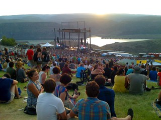 Sasquatch final sunset