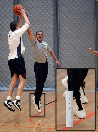 Obama Can't Jump