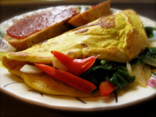tofu omelette