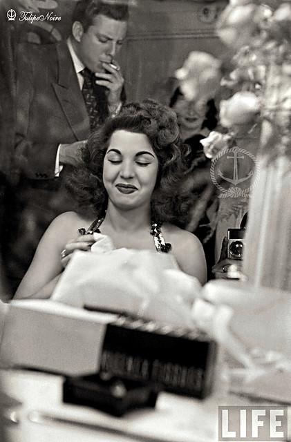Samia Gamal & King In Miami - March 1952 (L)
