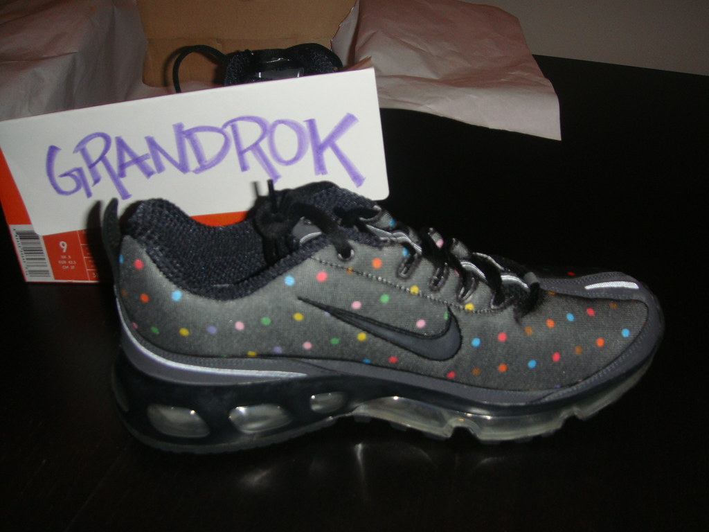 quality design 3e2ba c6794 ... Air Max 360 Nike Air Max 360 One time only Polka Dot - photo 27 Ace shot  from needlehorse in his Nike Air Max 360 Polka Dot Use hashtags  sneakersaddict ...