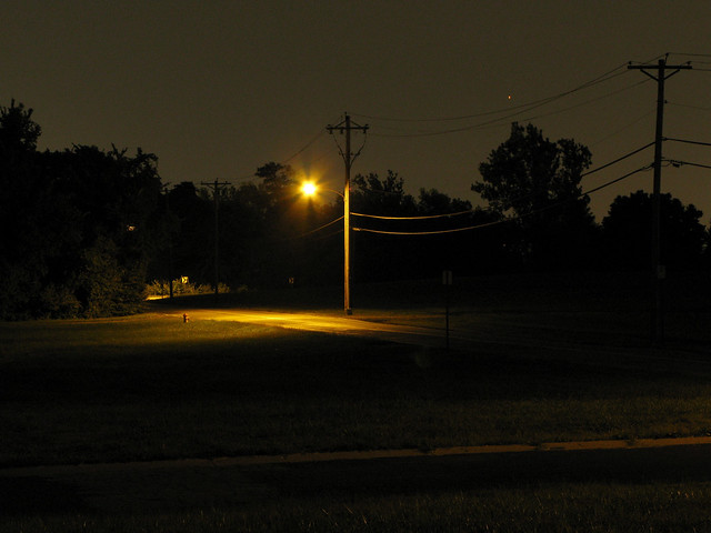 Street Light at Night | Flickr - Photo Sharing!