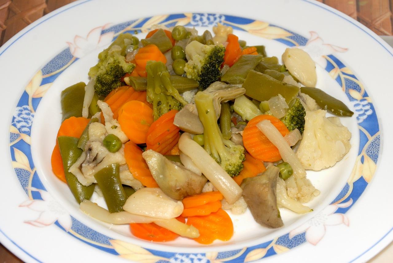 Mis ratos en la cocina menestra de verduras fussioncook - Como preparar menestra de verduras ...
