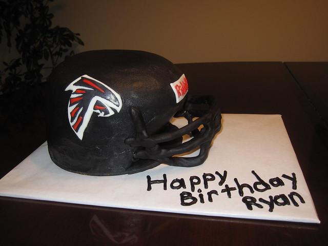 Peregrine Falcon Cake Decoration