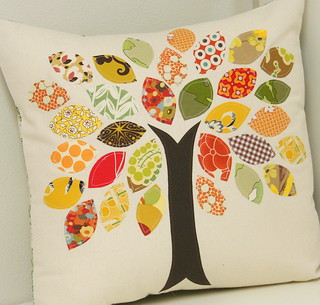 Fall Throw Pillow Tutorial - Scrapbuster Challenge