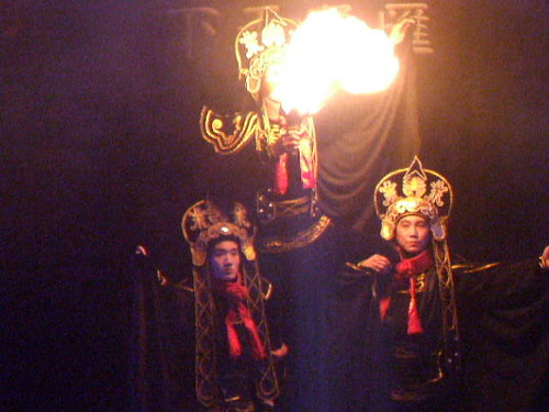 Shanxi Opera (晋剧) Scenes performance: Changing Masks