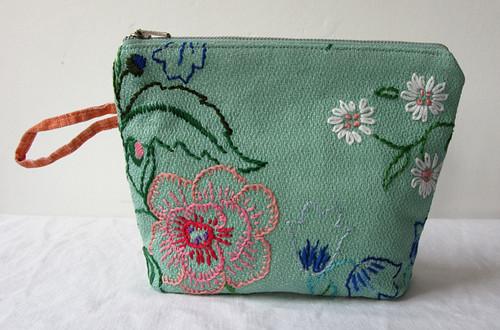 Embroidered Seersucker Fabric | Welcome