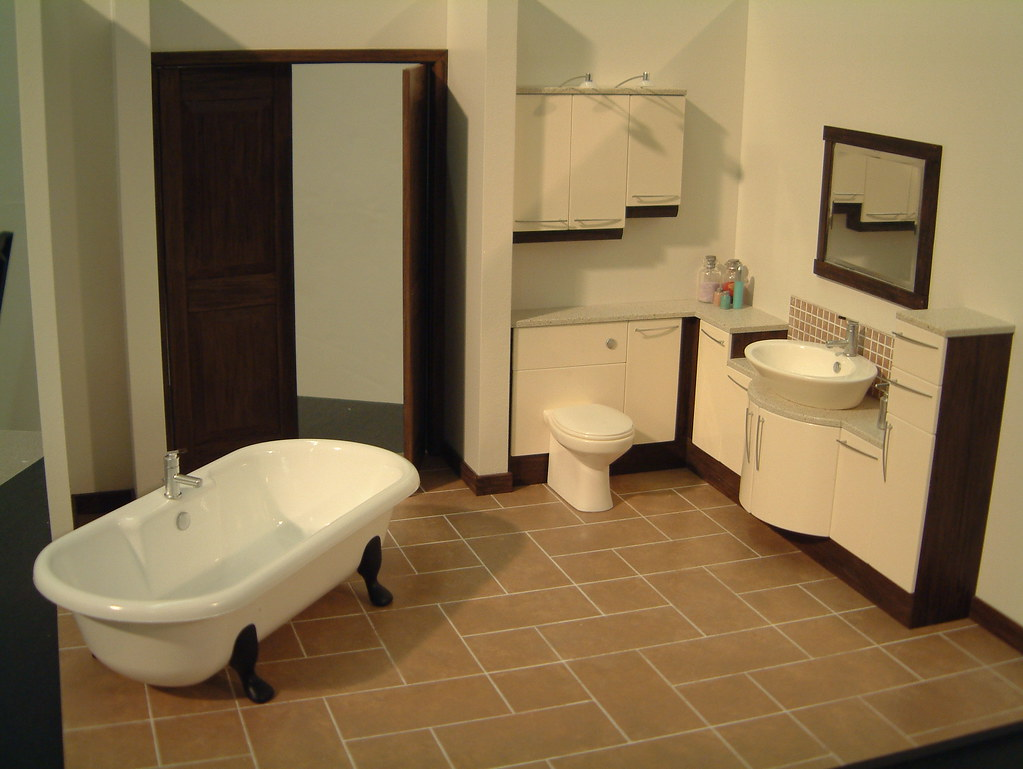 Miniature Bathroom Presentation Model
