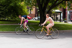 World Naked Bike Ride - Albany, NY - 09, Jun - 07 by sebastien.barre