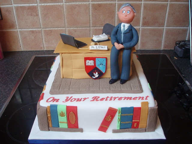 Teacher s Retirement Cake This was a cake I did for a ...