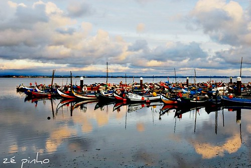 sunset portugal barcos reflexions ria torreira riadeaveiro murtosa ilustrarportugal sérieouro