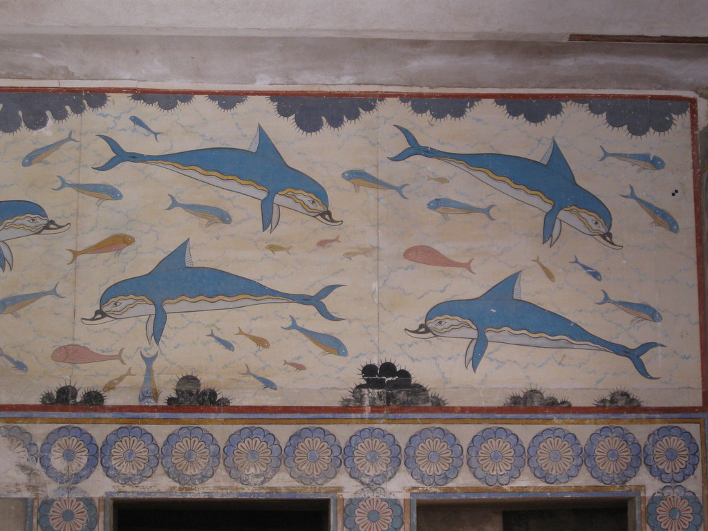 Dolphins at the Knossos Palace