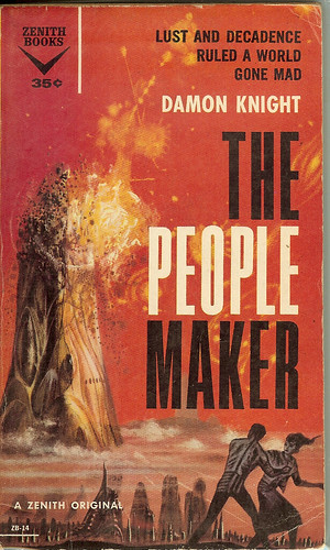 People Maker - Damon Knight - cover artist Richard Powers
