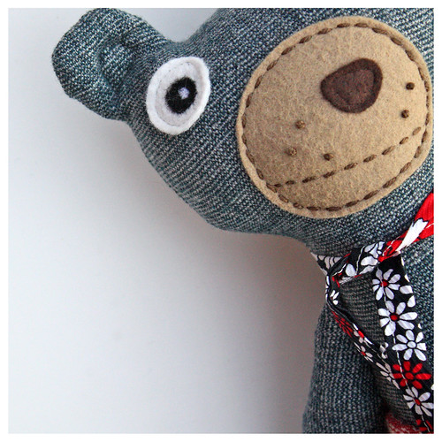 Googly-Eyed Girl Bear – Brown