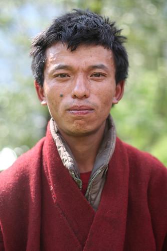 Portrait, Jongkhar village