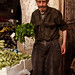 Gentleman selling vegetables, damascus