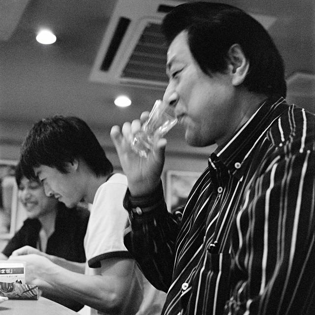 Photo:Enjoy your Sake By JanneM