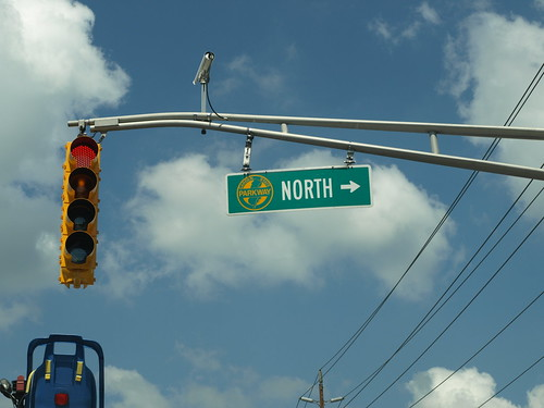Garden State Parkway traffic signal