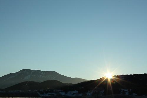 sun mountains newmexico sunrise dawn