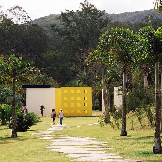 Magic Square # 5 – De Luxe, Hélio Oiticica em Inhotim, Brumadinho, MG
