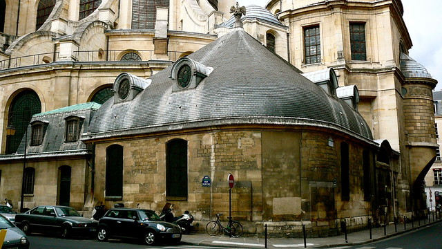 Le chevet de l 39 glise saint sulpice flickr photo sharing - Chevet architectuur ...