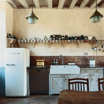 Rustic country chic: kitchen edition