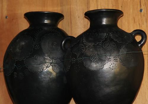 Jarrones de ceramica negra de oaxaca - Jarrones de ceramica ...