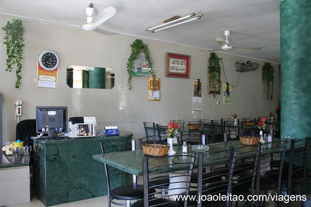 Restaurante em Jericó, Cisjordânia Palestina