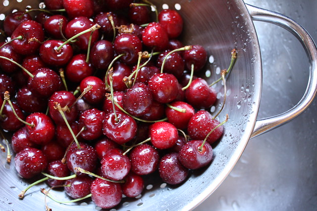 bing cherries!