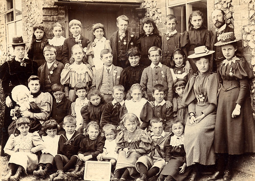 School group in 1897