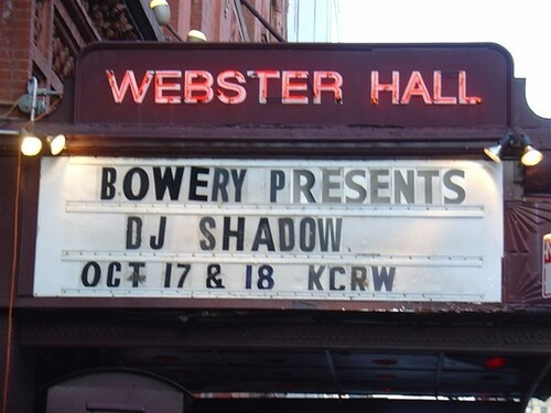 Webster Hall Marquee