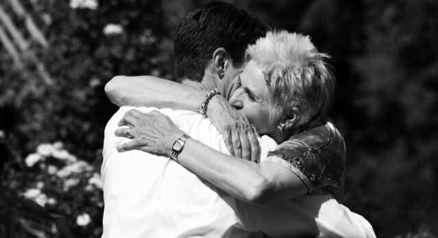 Mother's embrace, classic from Flickr via Wylio