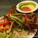 Grilled Prawns - Juayua, El Salvador
